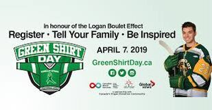Canadian Green Shirt Day