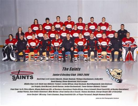 Winnipeg Saints 2003-04