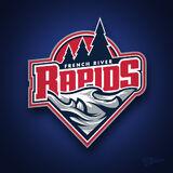 French River rapids logo