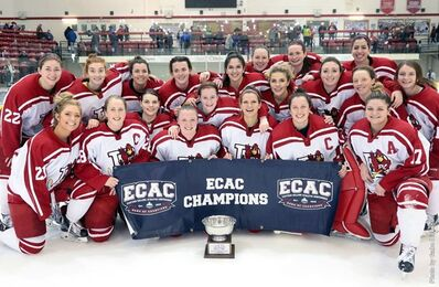 2017 ECAC West Women's champs Plattsburgh Cardinals