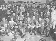 17Feb1958-NHL vs Bison All Stars