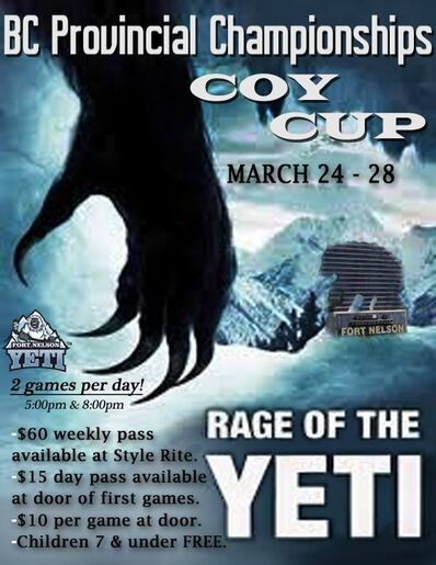2015 Coy Cup Poster