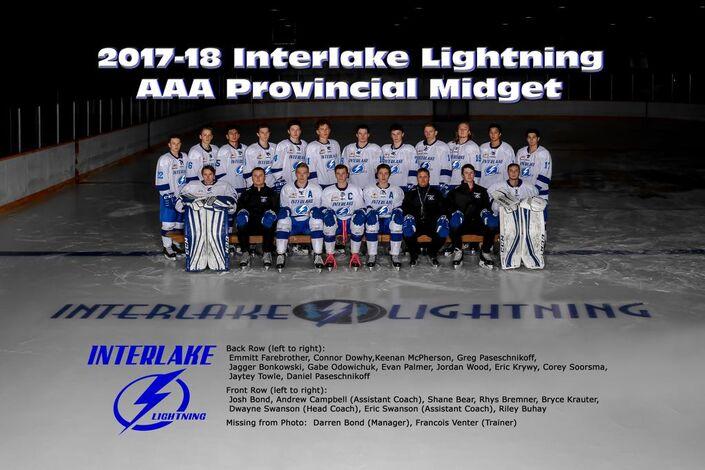 2017-18 Interlake Lightning