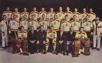 Boston Bruins 1966-67 team picture