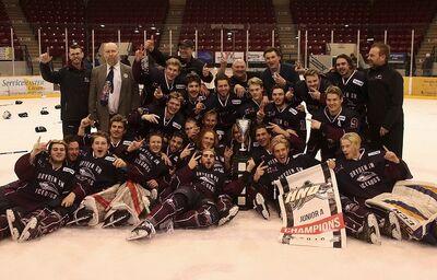 2018 SIJHL champions Dryden Ice Dogs