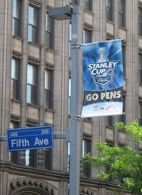 PittsburghPenguinsBannerGrantAve2008