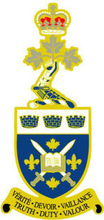 Royal Military College Saint Jean lapel pin