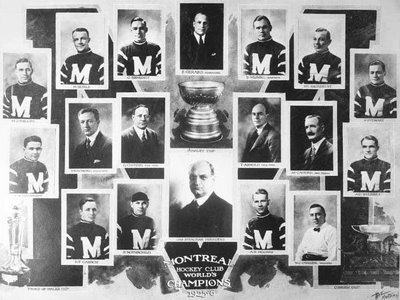 1926-Montreal Maroons Stanley Cup