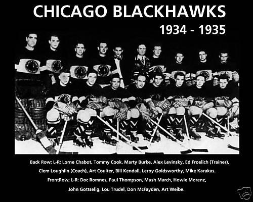 1934–35 Chicago Black Hawks season  20064ea5d
