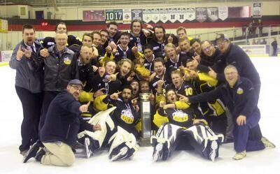 2018 NWJHL champions Fort St. John Huskies