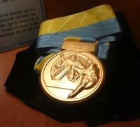 World U18 Championships Gold Medal