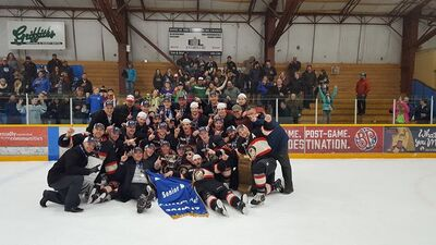 2017 Coy Cup champs Whitehorse Huskies