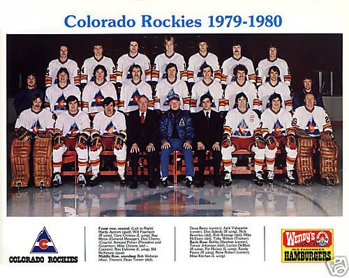 1979 80 Colorado Rockies NHL