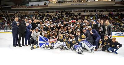 2019 Kelly Cup Champions Newfoundland Growlers