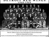 1968–69 Detroit Red Wings season