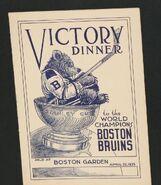 1939 Victory Dinner program