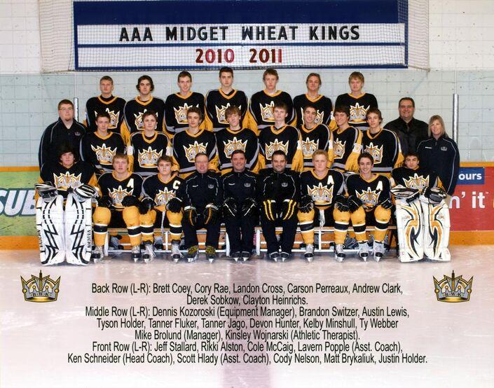 2010-11 Brandon AAA Midget Wheat Kings