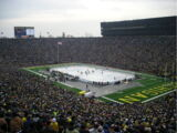 List of outdoor ice hockey games