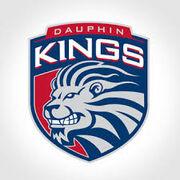 Dauphin Kings third sweater logo