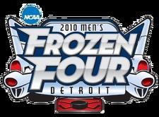 2010 Men's Frozen Four logo