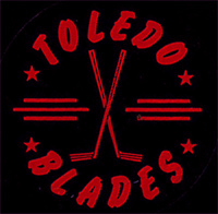 Toledo Blades Hockey Puck 1963 1964
