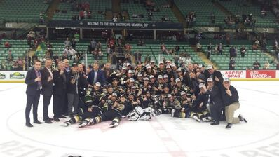 2016 Memorial Cup champions London Knights