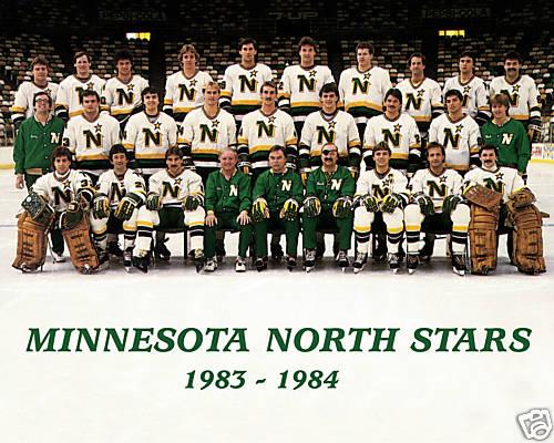 1983 84 Minnesota North Stars Season