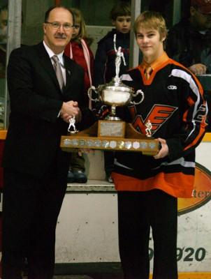 Aaron Lewadniuk Vince Leah Memorial Trophy