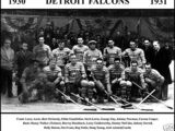 1930–31 Detroit Falcons season