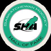 Saskatchewan Hockey Hall of Fame Logo