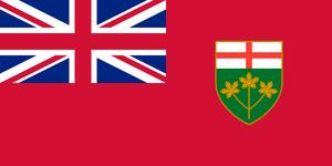 Flag of Ontario