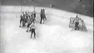 NHL 52-53 First Beliveau's game for Habs