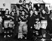 1940 Rangers celebrate