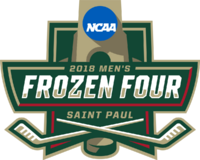2018 Frozen Four logo