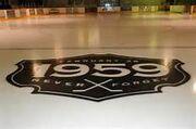 Listowel Memorial Arena ice tribute