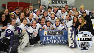 2016 MIAC Women's champion St. Thomas Tommies