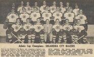 Oklahoma Blazers 1966 Champs