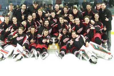 2018 IJHL champions Western Red Wings