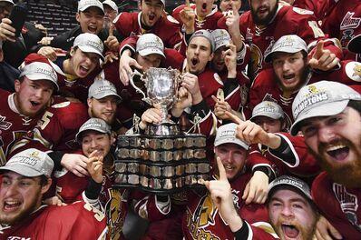 2018 Memorial Cup champions Acadie-Bathurst Titan