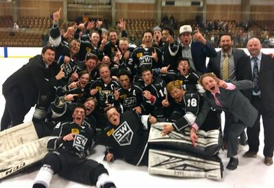2018 RMJHL champions Steamboat Wranglers