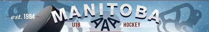 Manitoba AAA U18 Hockey League banner