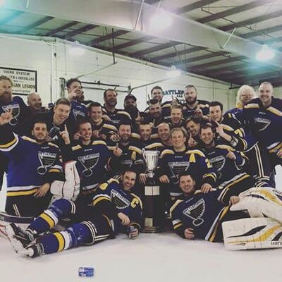 2019 SPHL champions Battleford Beaver Blues
