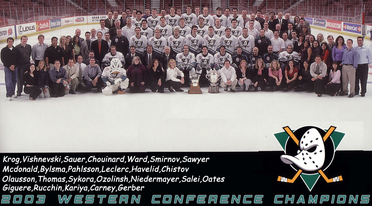 7c71f294b83 2002–03 Mighty Ducks of Anaheim season | Ice Hockey Wiki | FANDOM ...