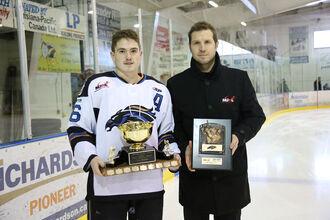 Josh Tripp receives Mike Ridley Trophy-0
