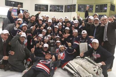 2018 QJHL champions Longueuil College Francais