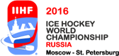 2016 Mens World Ice Hockey Championship logo