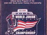 2005 World Junior Ice Hockey Championships