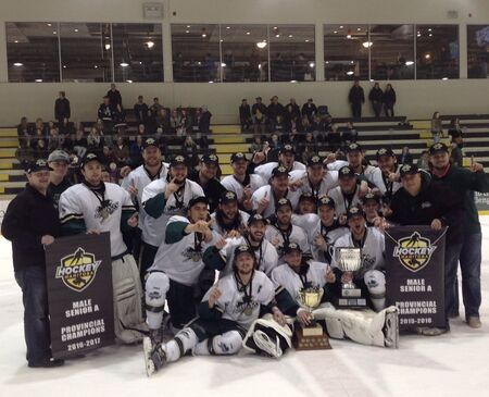2017 Manitoba Senior A champs Killarney Shamrocks