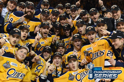 2017 OHL champs Erie Otters