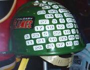Calgary Flames Green HardHat